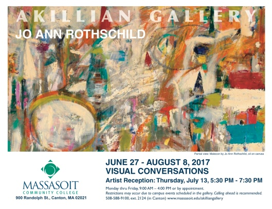 Jo Ann Rothschild Exhibition Announcement