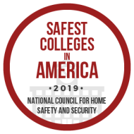 Safest Colleges in America Logo